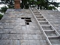 Pennsylvania Slate Roof Repair - Before